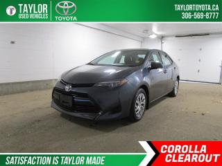 Used 2019 Toyota Corolla LE for sale in Regina, SK