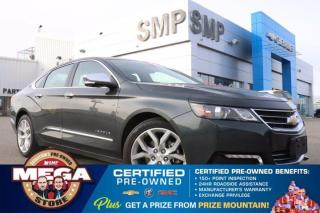 Used 2019 Chevrolet Impala Premier - Leather, Panoramic Sunroof, Remote Start, Navigation for sale in Saskatoon, SK