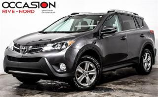 Used 2015 Toyota RAV4 XLE AWD TOIT.OUVRANT+SIEGES.CHAUFANTS+MAGS for sale in Boisbriand, QC