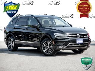 Used 2018 Volkswagen Tiguan Highline 7 Passenger High-Line | Panoramic Roof | Winter Wheels and Tires! for sale in St Catharines, ON