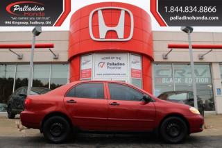 Used 2006 Toyota Corolla CE for sale in Sudbury, ON