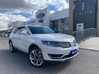 Used 2018 Lincoln MKX AWD Reserve/Navi/Leather/Roof/21 Wheels for sale in St Thomas, ON