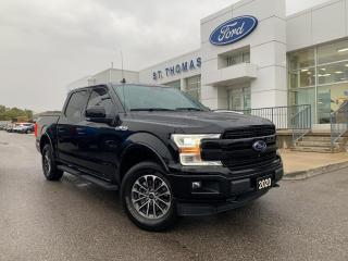 Used 2020 Ford F-150 Lariat 4x4/Leather/Navi/Sport Package/18 Wheels for sale in St Thomas, ON