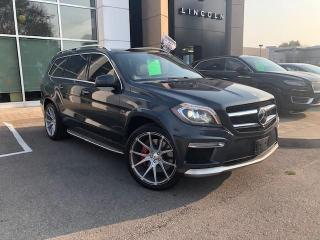 Used 2013 Mercedes-Benz GL-Class AMG GL 63! CERTIFIED AND READY TO RUMBLE!! for sale in Hamilton, ON