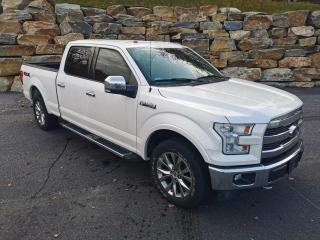Used 2017 Ford F-150 Lariat 5.0L V8, 4X4, CREW CAB LONGBOX, NAVI for sale in Huntsville, ON