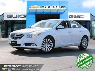 Used 2011 Buick Regal CXL CLEAN HISTORY! | VERY LOW KMS! for sale in Burlington, ON