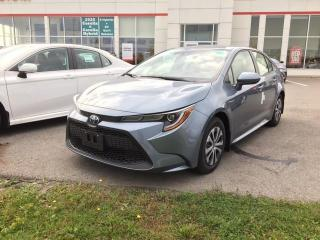 New 2021 Toyota Corolla Hybrid w/Li Battery HYBRID + PREMIUM PACKAGE!! for sale in Cobourg, ON