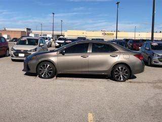 Used 2018 Toyota Corolla XSE AUTO ROOF NAV HEATED SEATS/STEERING WHEEL for sale in Orillia, ON