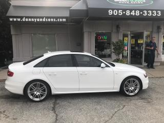 Used 2013 Audi A4 PREMIUM S LINE for sale in Mississauga, ON