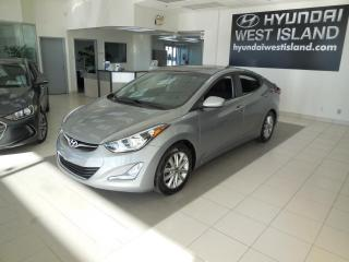 Used 2016 Hyundai Elantra SPORT AUTO TOIT MAGS CAMÉRA A/C BT CRUIS for sale in Dorval, QC