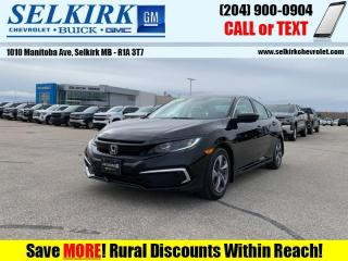 Used 2019 Honda Civic Sedan LX  *HEATED SEATS, BACK-UP CAM* for sale in Selkirk, MB