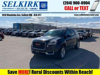 Used 2015 GMC Acadia SLE  *7-PASS, REMOTE START, HEATED SEATS* for sale in Selkirk, MB