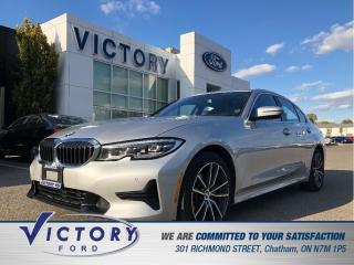 Used 2020 BMW 330 330i xDrive| NAV| HEATED SEATS| ROOF for sale in Chatham, ON