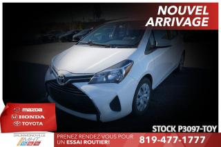 Used 2015 Toyota Yaris LE| AUTOMATIQUE| CLIMATISATION for sale in Drummondville, QC