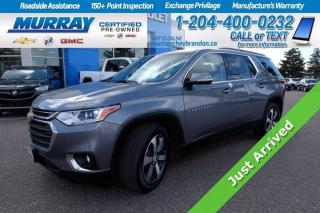 Used 2019 Chevrolet Traverse *Heated Leather Seats* Remote Start* Digital RearV for sale in Brandon, MB