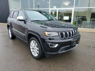 Used 2017 Jeep Grand Cherokee Limited 1 OWNER, LOW KM, NAV, Heated Seat! for sale in Ingersoll, ON