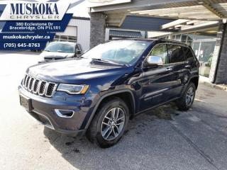 Used 2017 Jeep Grand Cherokee Limited for sale in Bracebridge, ON