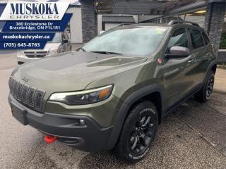 New 2021 Jeep Cherokee Trailhawk Elite  - Navigation for sale in Bracebridge, ON