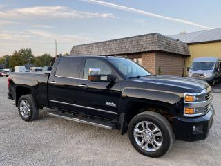 Used 2015 Chevrolet Silverado 2500 HD HighCountry, Diesel for sale in Ridgetown, ON