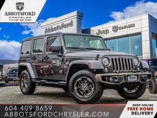 Used 2017 Jeep Wrangler Unlimited Sahara  - $280 B/W for sale in Abbotsford, BC