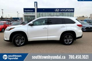 Used 2017 Toyota Highlander LIMITED V6 AWD/LEATHER/SUNROOF/NAV for sale in Edmonton, AB