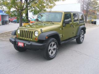 Used 2007 Jeep Wrangler X Unlimited for sale in York, ON