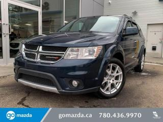 Used 2013 Dodge Journey R/T - AWD, REAR DVD, HEATED SEATS, SUNROOF, LEATHER, AND MUCH MORE, BANG FOR YOUR BUCK FAMILY SUV! for sale in Edmonton, AB