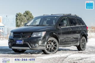 Used 2015 Dodge Journey R/T AWD|7 Pass|Leather|Sunroof| for sale in Bolton, ON