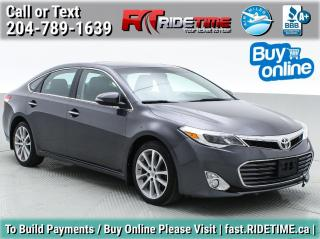 Used 2014 Toyota Avalon XLE for sale in Winnipeg, MB