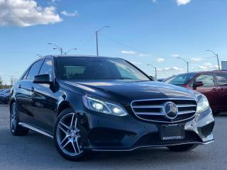 Used 2016 Mercedes-Benz E-Class E 400 AMG PKG NO ACCIDENTS for sale in Oakville, ON