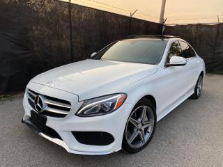 Used 2015 Mercedes-Benz C-Class C300-4MATIC-AMG-SPORT-NAVI-CAMERA-PANO ROOF for sale in Toronto, ON