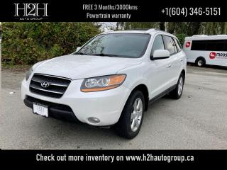 Used 2008 Hyundai Santa Fe Limited 5-Pass for sale in Surrey, BC