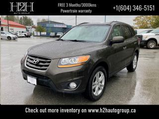 Used 2011 Hyundai Santa Fe Limited w/Navi for sale in Surrey, BC