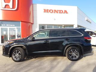 Used 2017 Toyota Highlander XLE No Accidents, heated leather seats, 8 passenger, moonroof for sale in Winnipeg, MB