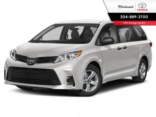 New 2020 Toyota Sienna LE YEAR END SALE! CALL AND BOOK YOUR APPOINTMENT NOW! for sale in Winnipeg, MB
