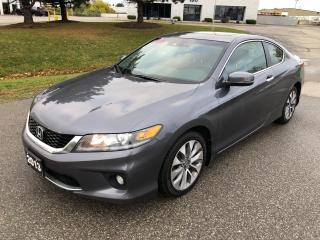Used 2013 Honda Accord EX-L W/NAVI for sale in Cambridge, ON