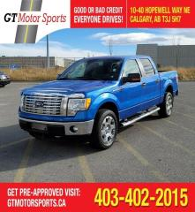 Used 2011 Ford F-150 XLT  I XTR PACKAGE |$0 DOWN - EVERYONE APPROVED!! for sale in Calgary, AB