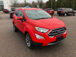 New 2020 Ford EcoSport Titanium for sale in Pembroke, ON