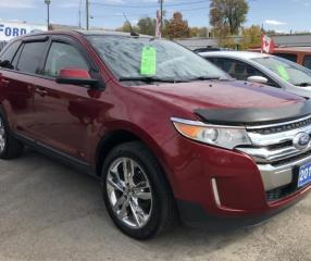 Used 2013 Ford Edge SEL for sale in Brockville, ON