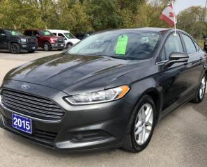 Used 2015 Ford Fusion SE for sale in Brockville, ON