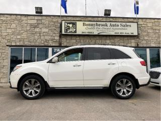 Used 2012 Acura MDX Elite Awd Dvd Navigation Rearview camera sunroof for sale in Calgary, AB