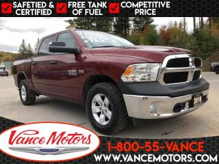 Used 2018 RAM 1500 SXT 4x4...V8*TOW*BLUETOOTH! for sale in Bancroft, ON