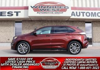 Used 2016 Ford Edge SPORT 2.7L ECOBOOST AWD ALL OPTIONS, VERY SEXY!! for sale in Headingley, MB