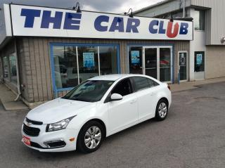 Used 2016 Chevrolet Cruze LT - AUTO - A/C - BACK UP CAMERA! for sale in Ottawa, ON