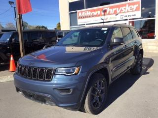 New 2021 Jeep Grand Cherokee 80TH ANNIV / TOW PKG / PREM LIGHTING for sale in Milton, ON