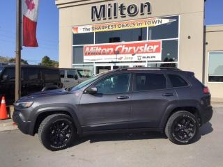 Used 2019 Jeep Cherokee Trailhawk 4X4 for sale in Milton, ON
