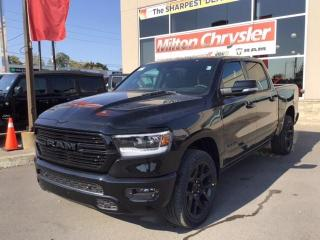 New 2021 RAM 1500 SPORT 4X4/NIGHT EDITION/LEATHER & SOUND GRP. for sale in Milton, ON
