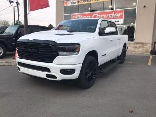 New 2021 RAM 1500 SPORT 4X4 . NIGHT EDITION . HEADS UP DISPLAY for sale in Milton, ON