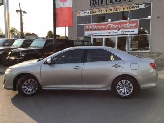 Used 2014 Toyota Camry LE for sale in Milton, ON