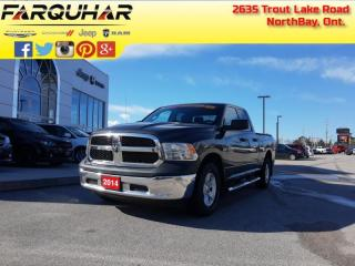 Used 2014 RAM 1500 ST -  Power Windows -  Power Doors for sale in North Bay, ON